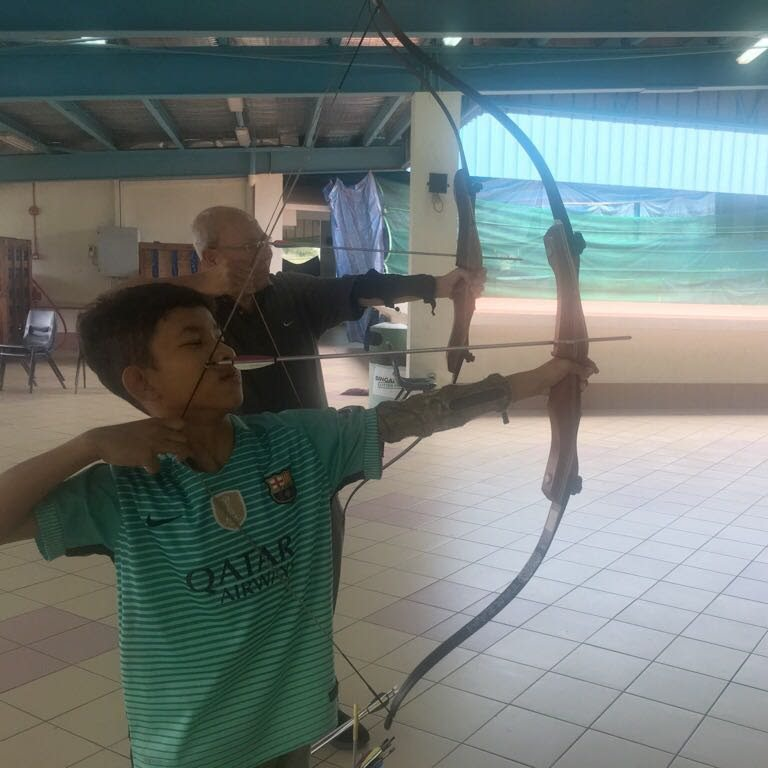 learning archery