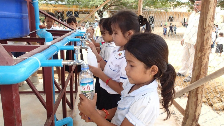 Gifting Safe Drinking Water to Children