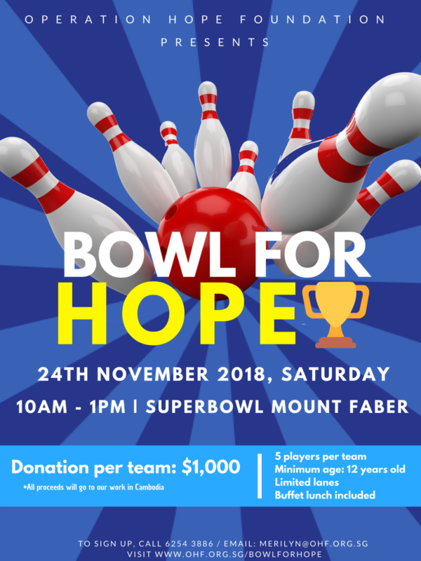 Bowl for Hope Poster