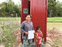 OHF Toilet Beneficiary