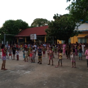 Hope Village Children Morning Exercise