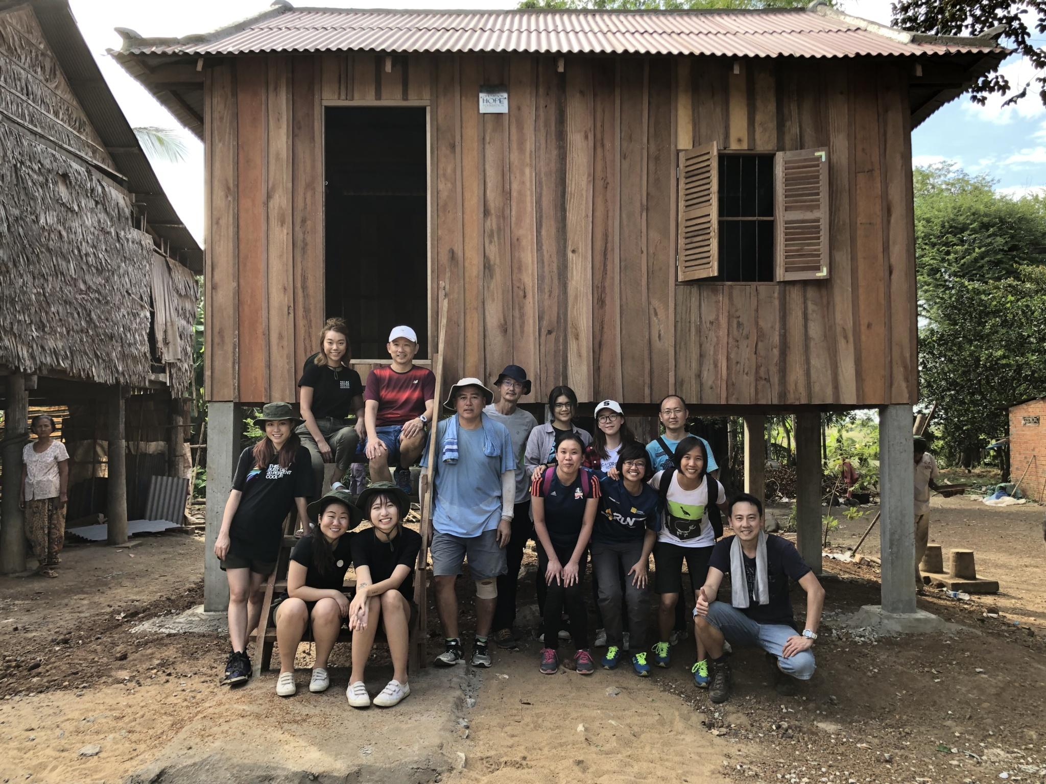 Overseas House Building Volunteer Singapore