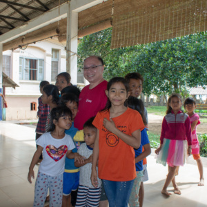 HVPV children enjoying games planned by Covenant Presbyterian Church