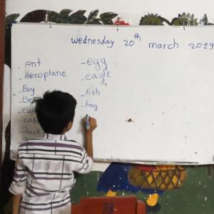 HVPV children learning English