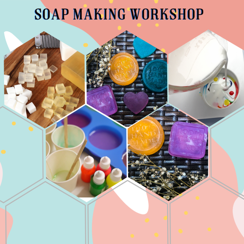 Soap Making Website visual