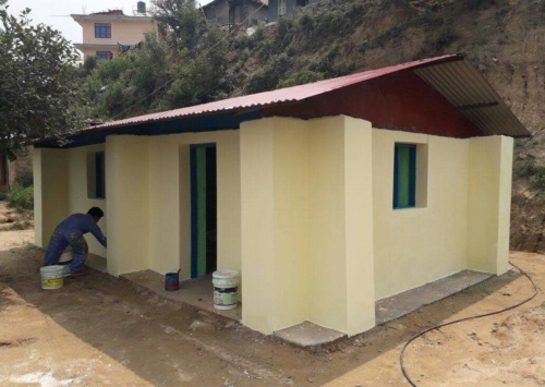Kavre painted rice bag house 4