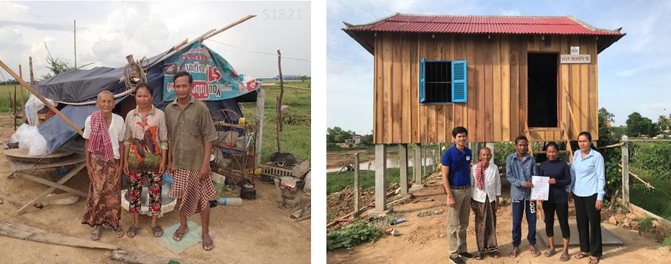 Rebuild Houses Cambodia