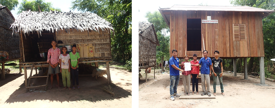 House Building Programme In Cambodia